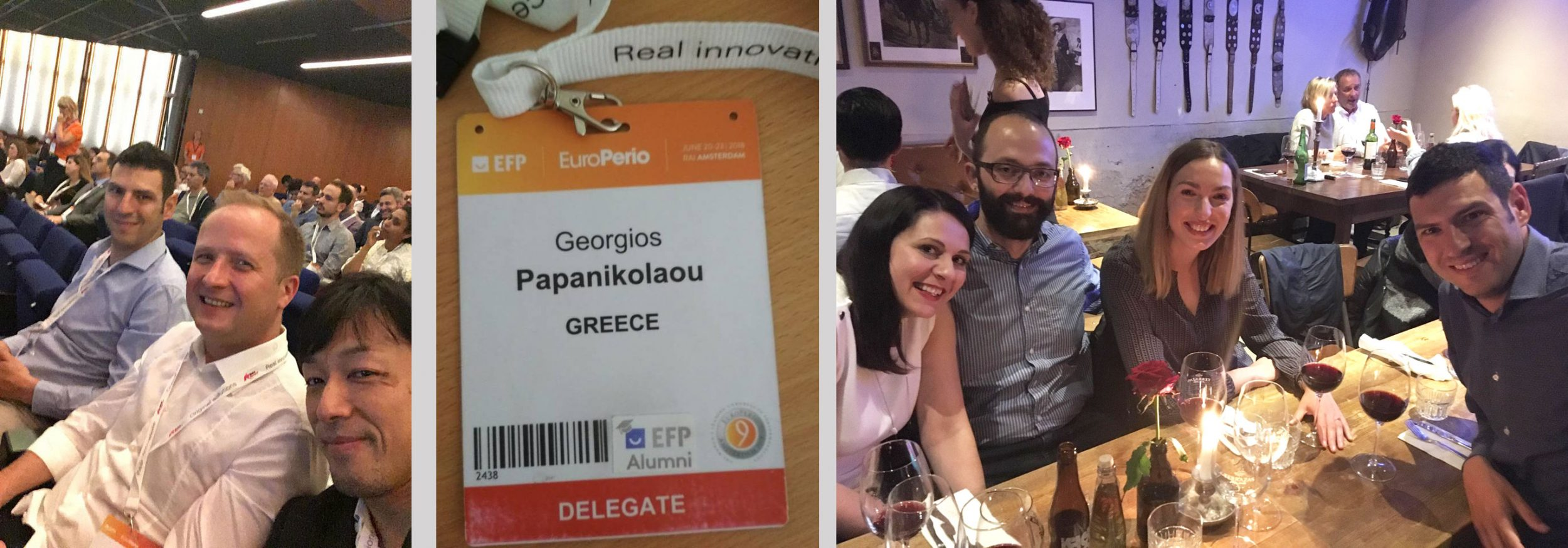EuroPerio 9 - Gothenburg group, Papanikolaou, Παπανικολάου